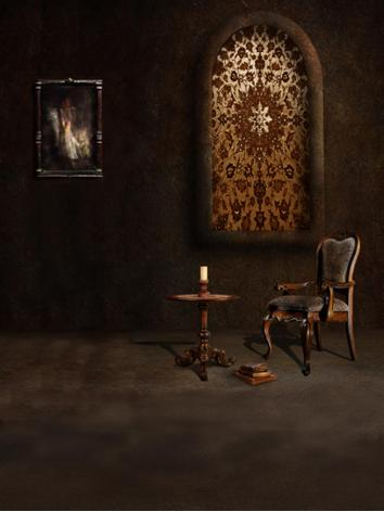 BJD Background/Scenery/Backdrop Photography Wall Settings y2273 Ball-jointed Doll