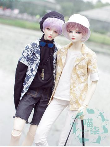 BJD Clothes Boy Shirt for M...