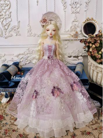 BJD Clothes Girl Wisteria F...