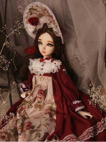 BJD Clothes Girl Rose Fores...