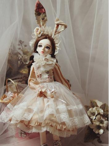 BJD Clothes Girl Flower Tea...