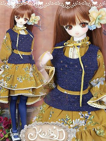 1/3 BJD Clothes Girl Yellow...
