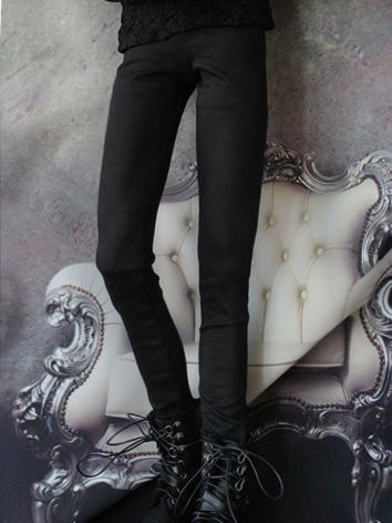 BJD Clothes Boy Black Slim ...