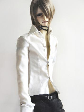 BJD Clothes White/Black Shi...