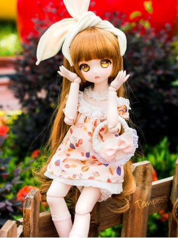 BJD Clothes Girl Summer Set for MSD/MDD/DSD Ball-jointed Doll