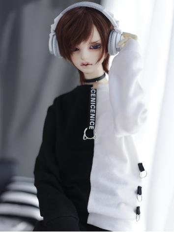 BJD Clothes Black and White...