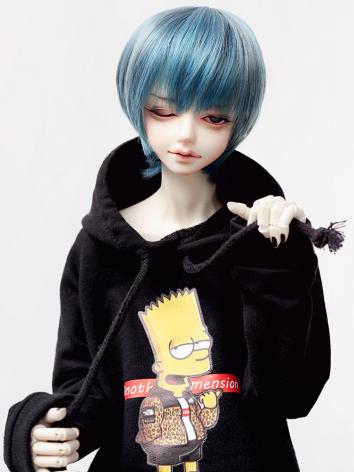 BJD Clothes Simpson Hooded ...