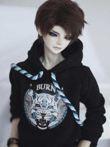 BJD Clothes Color Rope Whit...