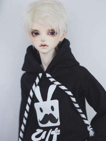 BJD Clothes Black-white Rop...