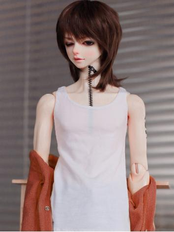 BJD Clothes Boy Vest Black/...