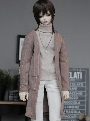 BJD Clothes Boy Tiramisu Coat Suit for SD/70CM Ball-jointed Doll