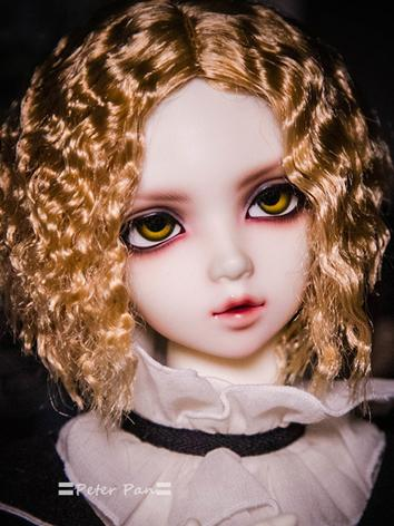 BJD Wig Boy/Girl Short Little Curly Hair Wig for SD/70cm/MSD/YOSD Size Ball-jointed Doll