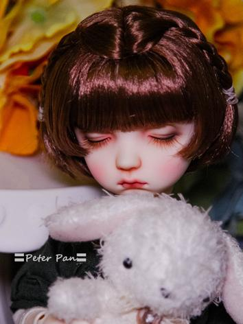 BJD Wig Girl Cute Hair Wig for SD/MSD Size Ball-jointed Doll
