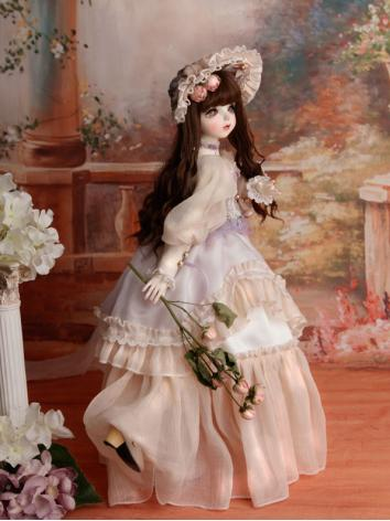 BJD Clothes Girl Suit Verla Outifit Dress for MSD Size Ball-jointed Doll