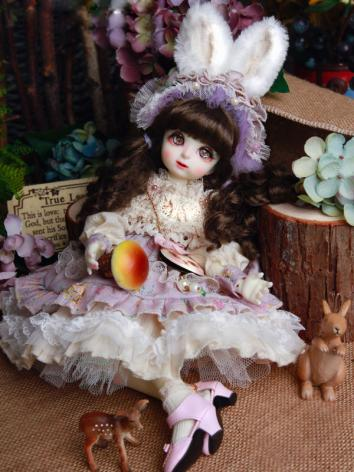 BJD Clothes Girl Suit Rabbi...