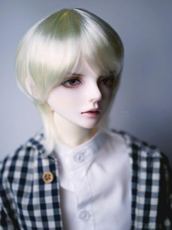 BJD Wig Boy Beige Short Hair for SD Size Ball-jointed Doll