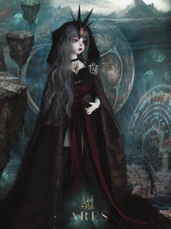 BJD Clothes Girl Ares Black...