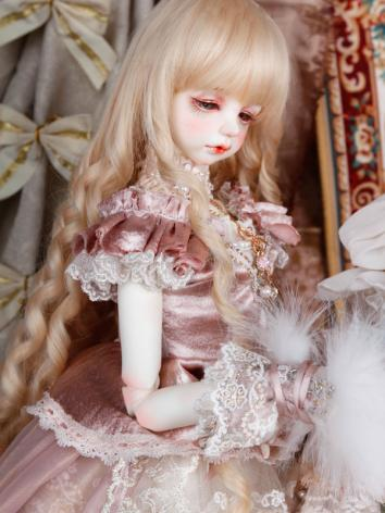 BJD Clothes Girl Suit Pink ...