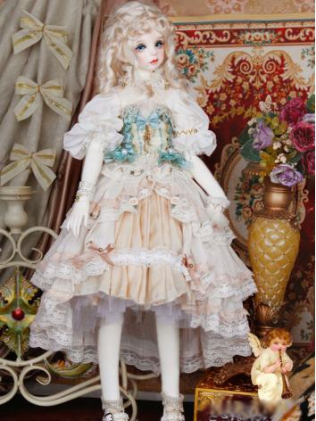 BJD Clothes Girl Suit Dress...
