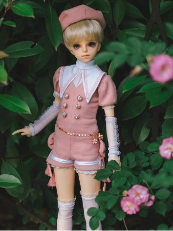 BJD Clothes Boy Pink/Blue/Green Set for MSD/SD/SD17/70CM/SOOM ID72/IP HID size Ball-jointed Doll