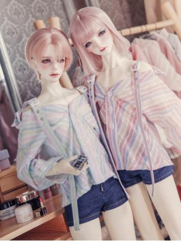 BJD Clothes Boy/Girl Shirt for MSD/SD/SD17/70CM/SOOM ID72/IP HID size Ball-jointed Doll