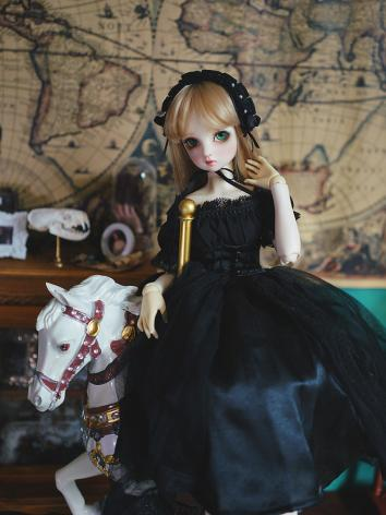 BJD Clothes Girl Vintage Tu...