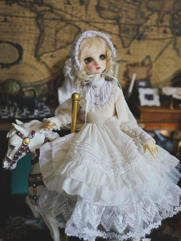 BJD Clothes Girl Vintage Lo...