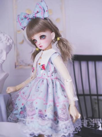 BJD Clothes Girl Light Blue...