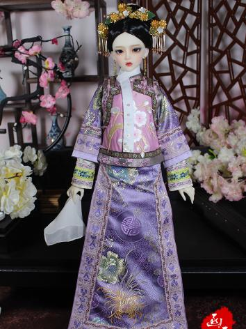 1/3 Clothes Girl Purple Qin...