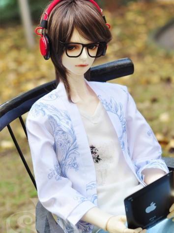 BJD Clothes Boy Cardigan Jacket for 70cm size Ball-jointed Doll