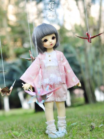 BJD Clothes Girl Pink Littl...