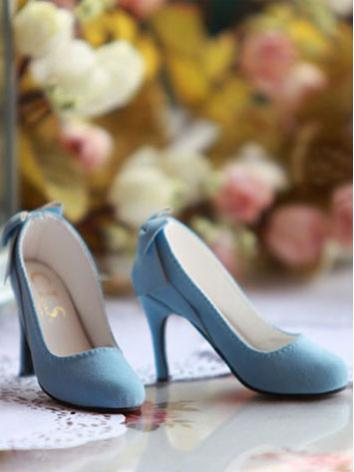 Bjd 1/3 Girl Shoes Skyblue ...