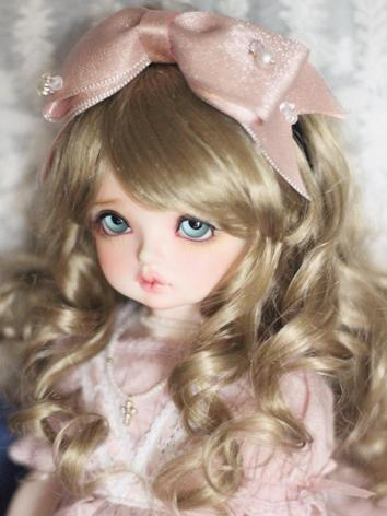 BJD Hair Decoration Pink Bo...