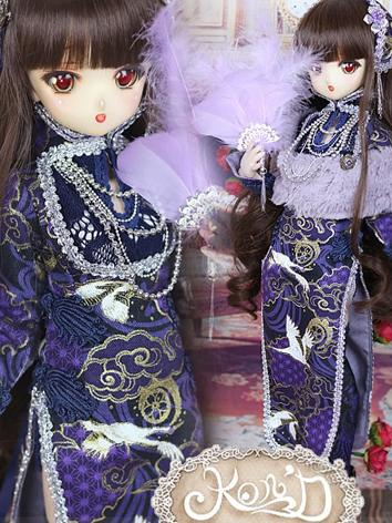 1/4 BJD Clothes Girl Blue C...