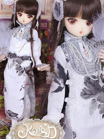 1/4 BJD Clothes Girl Gray C...