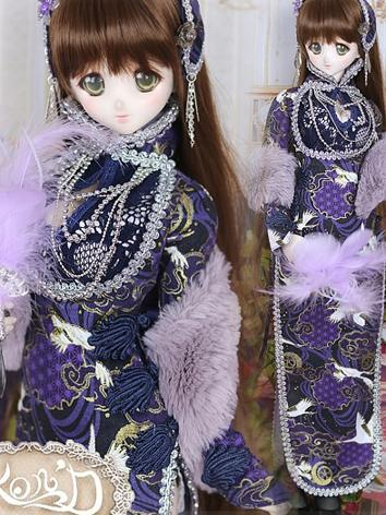 1/3 BJD Clothes Girl Blue C...