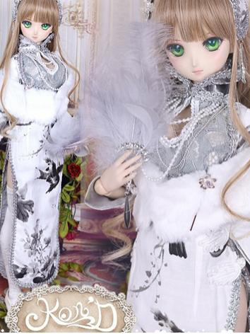 1/3 BJD Clothes Girl Gray C...