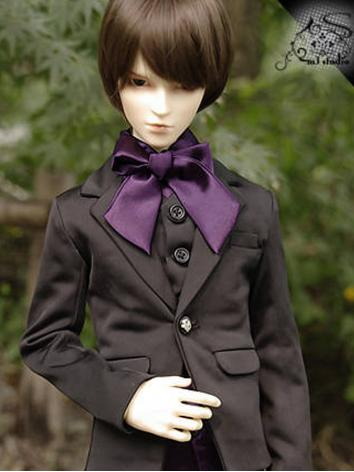 BJD Clothes Boy Slim Suit f...