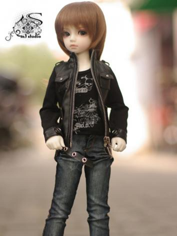 BJD Clothes Boy Motorcycle ...