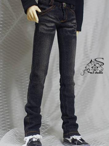 BJD Clothes Black Jeans for...