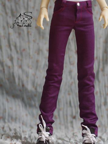 BJD Clothes Dark Purple Pen...