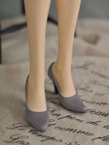 Bjd Girl Office Lady Nude High-heel Shoes for SD16/SDGR/SD10/SD13 Girl Ball-jointed Doll