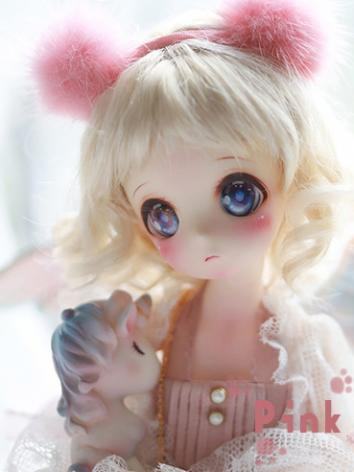BJD 29cm Pink Bear Girl Boll-jointed doll