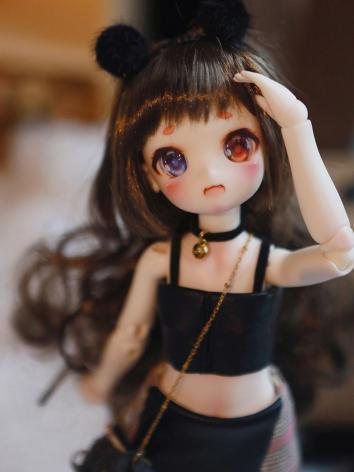 BJD 29cm Black Cat Girl Bol...