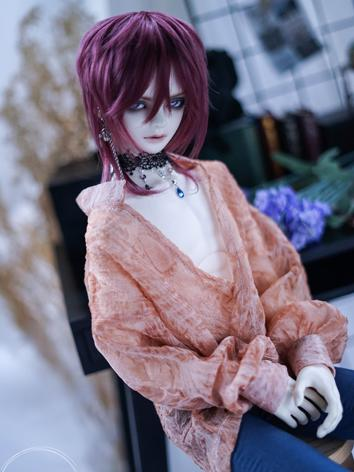 BJD Clothes Boy/Girl Pink/Black Shirt for 70cm/SD17/SD/MSD Ball-jointed Doll