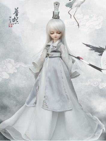 Bjd Clothes Ancient 1/6 Baby clothes fullset -- jade CL6170402 for YOSD Ball-jointed Doll