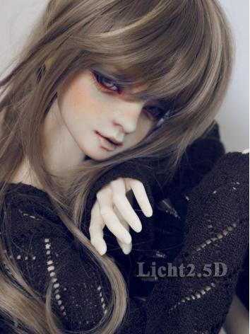 BJD Wig Girl/Boy Brown/Blac...