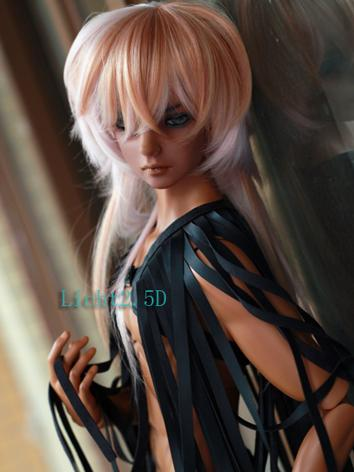 BJD Wig Girl/Boy Gold Hair [439] for SD/MSD Size Ball-jointed Doll