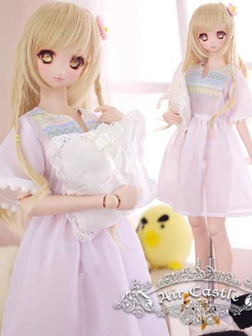 BJD Clothes SD/DD Girl Dress Set for Ball-jointed Doll