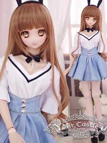 BJD Clothes SD/DD Girl Daily Casual Set Set for Ball-jointed Doll